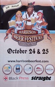 harrison beerfest program cover
