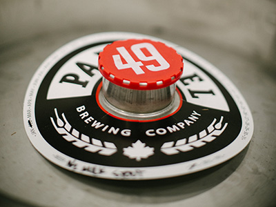 Parallel 49 Brewing Company Keg