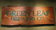 Green Leaf Brewing Company Wood Sign Thumbnail