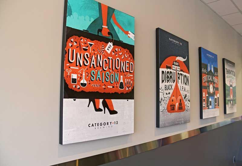 c12 label posters
