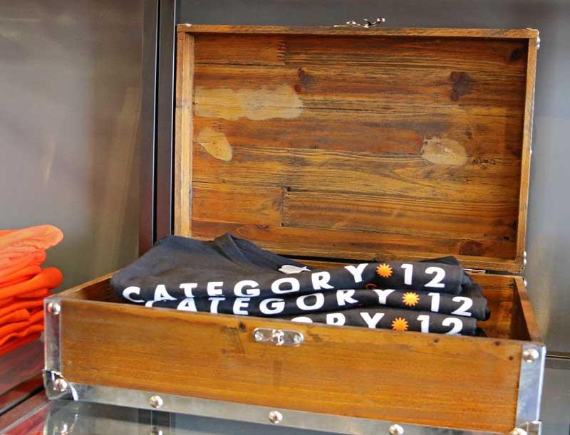box of t-shirts