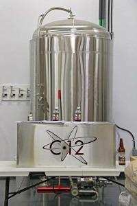 brewing tank at c12 brewing