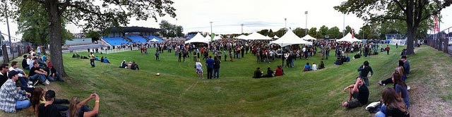 great canadian beer festival panorama