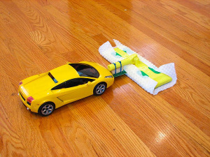 rc car sweeper