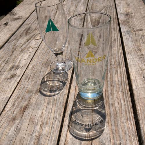empty wander glasses