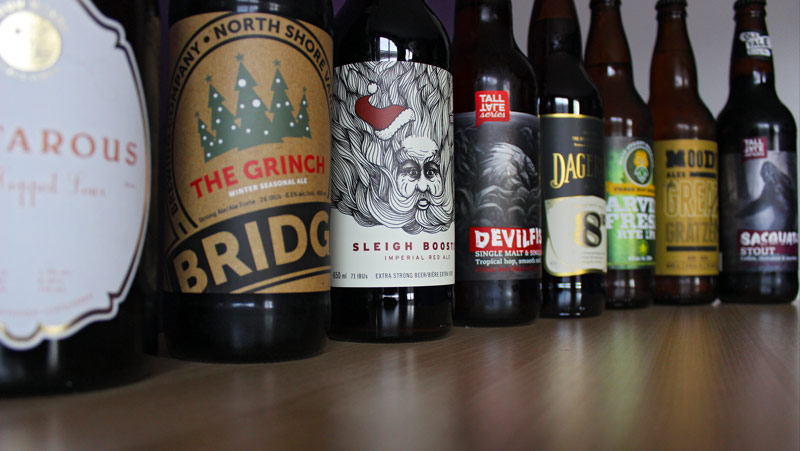 advent calendar beers