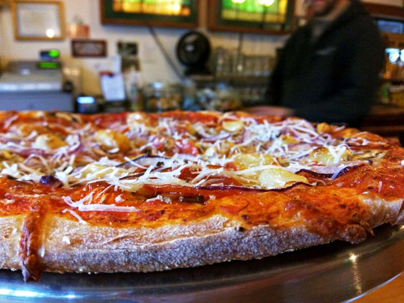 north fork pizza closeup