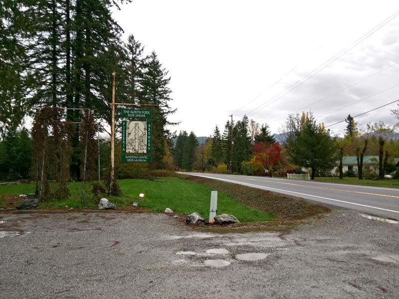 north fork sign