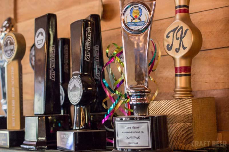 Persephone Brewing Awards