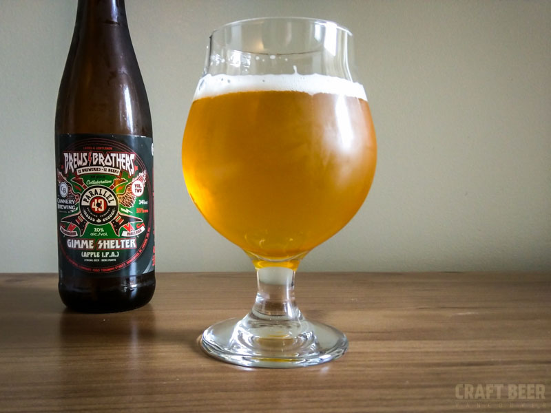 Brews Brothers Collaboration Apple IPA