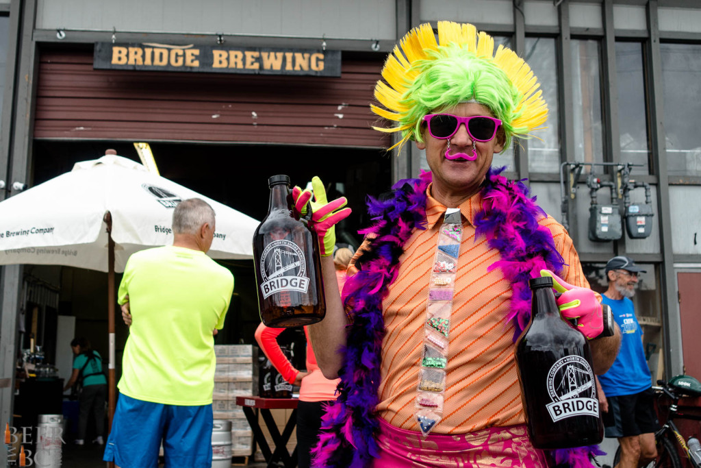 Bridge Brewing 10k Growler Run Beer Me BC Photo
