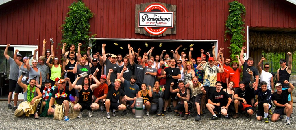Persephone Brewing Tough Kegger 2014 Group