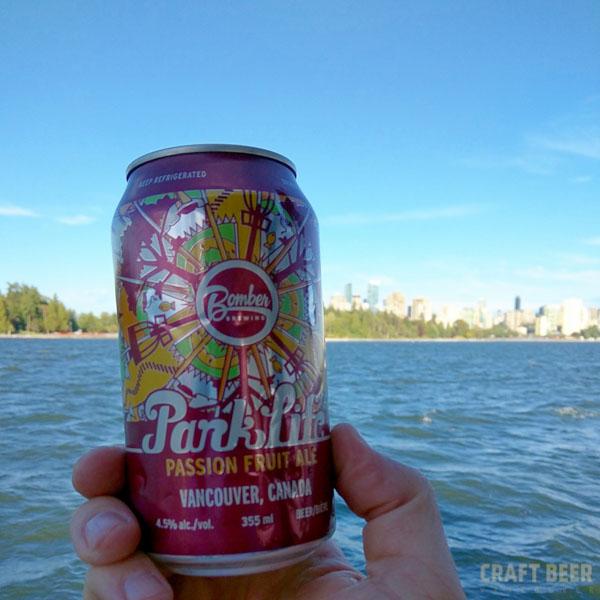 Beer Tasting Parklife Passion Fruit Ale