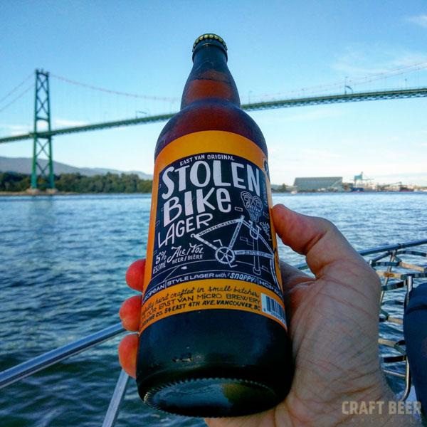 Beer Tasting Stolen Bike Lager
