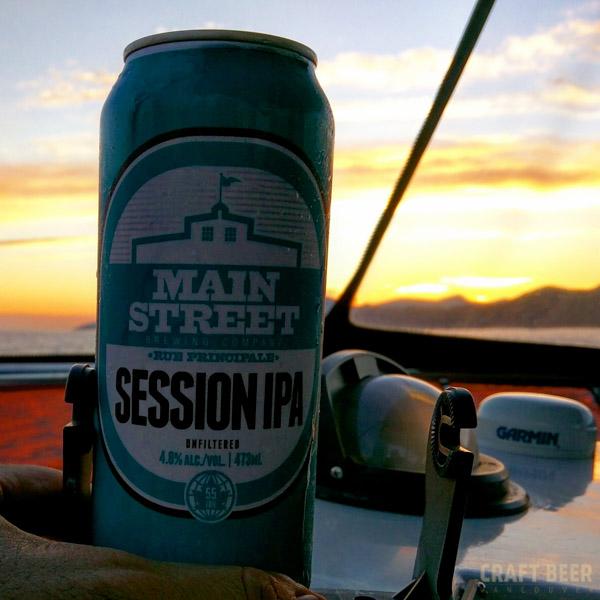 Beer Tasting Main Street Session IPA