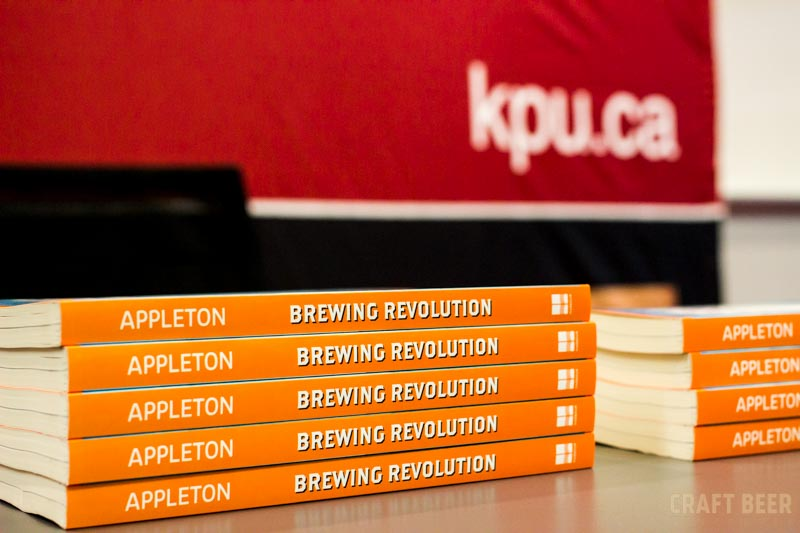 KPU Brewing Revolution Stack of Books