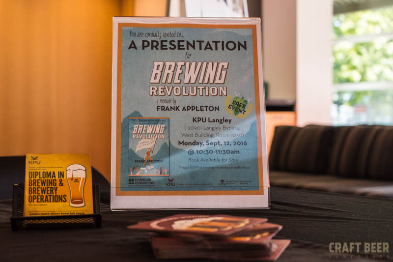 KPU Brewing Revolution Event Poster