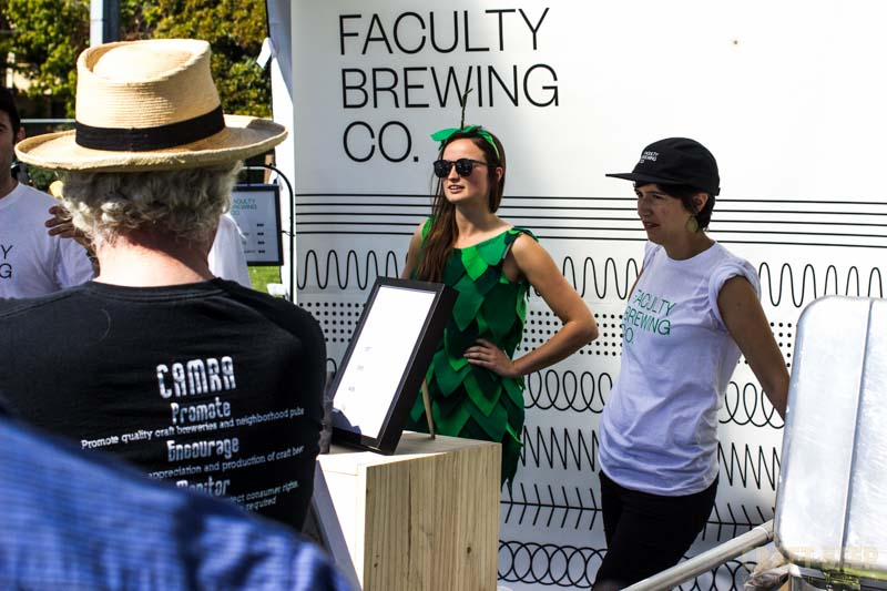 Great Canadian Beer Festival 2016 Faculty Brewing Alicia