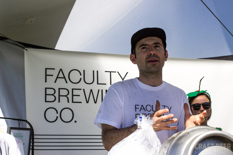 Great Canadian Beer Festival 2016 Faculty Brewing Mauricio