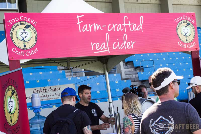 Great Canadian Beer Festival 2016 Tod Creek Cider