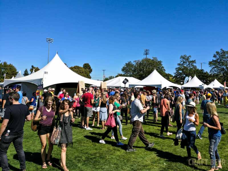 Great Canadian Beer Festival 2016 Crowd