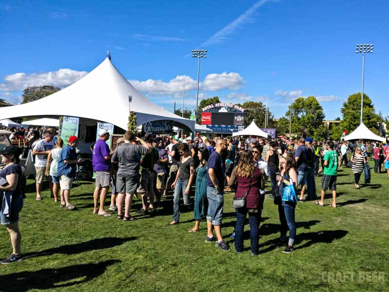 Great Canadian Beer Festival 2016 Royal Athletic Park
