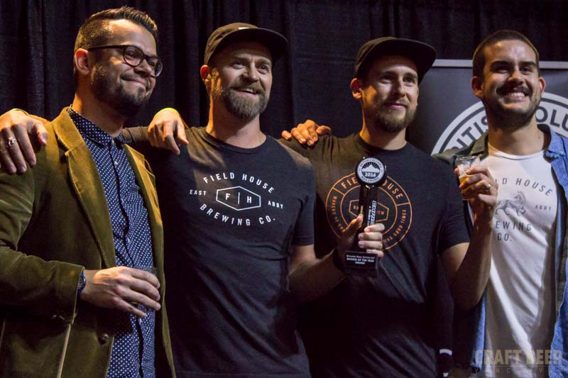 BC Beer Awards 2016 Field House Brewing