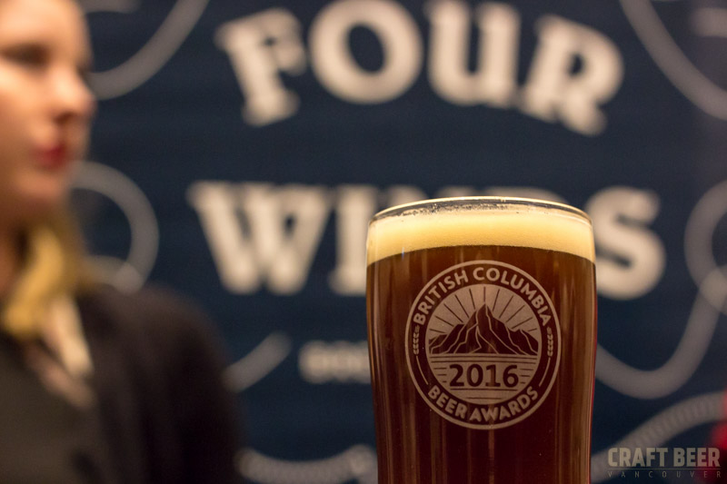 BC Beer Awards 2016 Four Winds