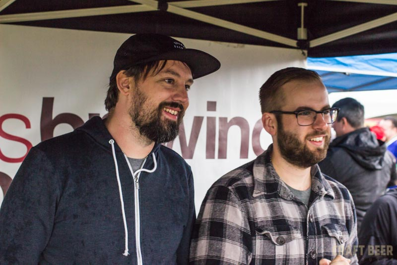 BC Hop Fest 2016 Ravens Brewing John and Nick