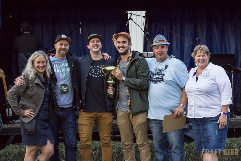 BC Hop Fest 2016 Field House Award