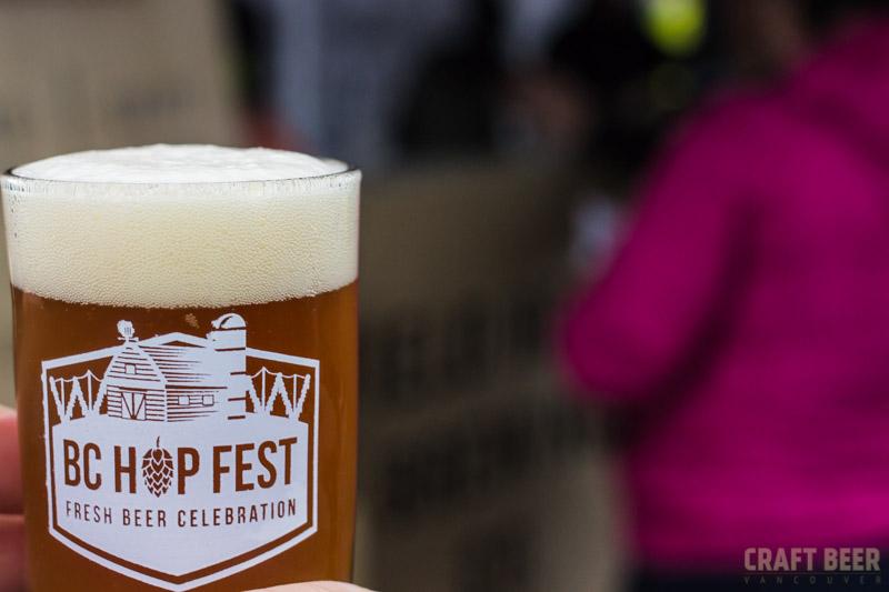 BC Hop Fest 2016 Glass Close-up