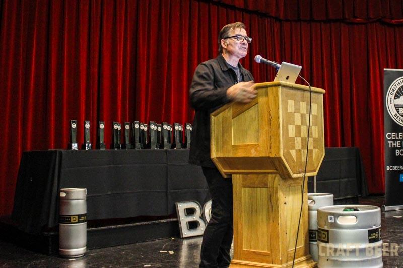 BC Beer Awards 2015 Stephen Quinn