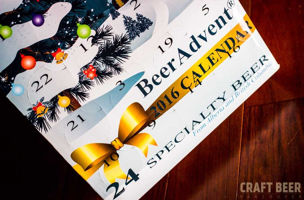 Craft Beer Advent Calendar 2016