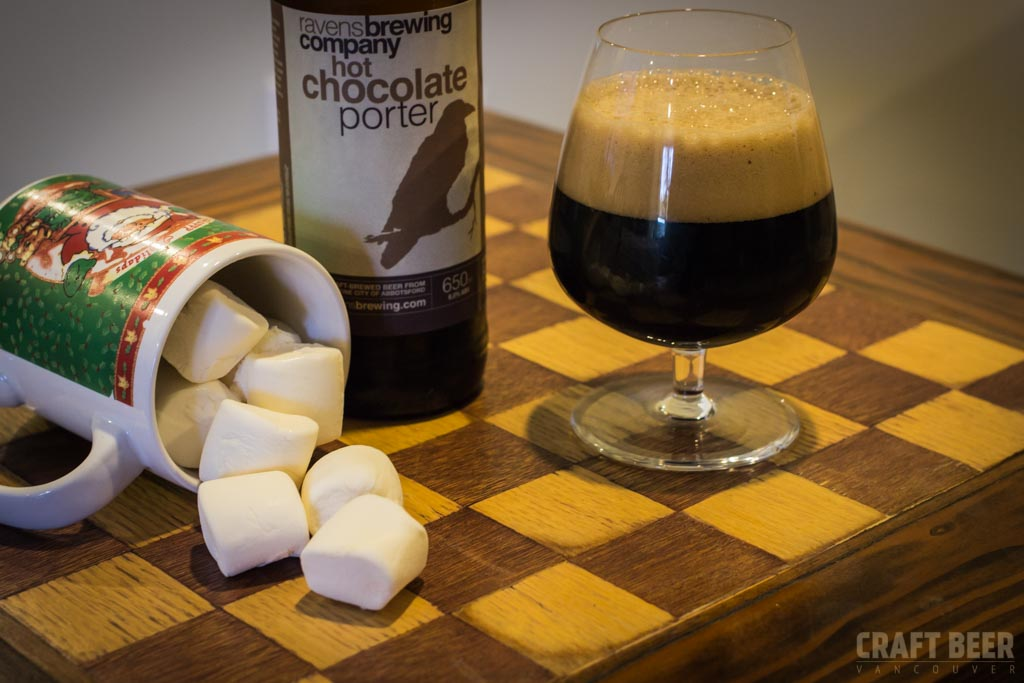 Ravens Brewing Company Hot Chocolate Porter Try This Beer