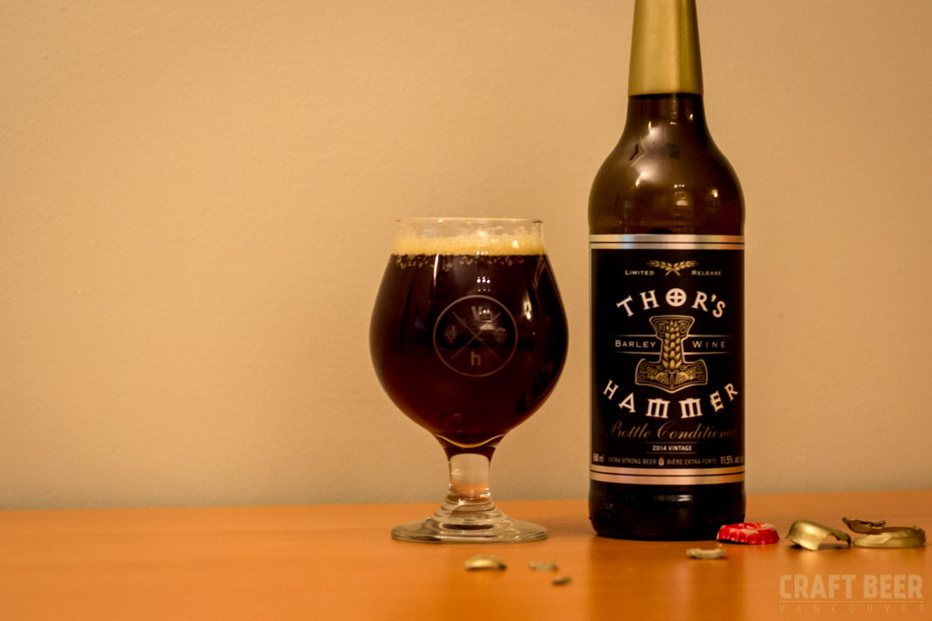 Barleywine Central City Brewing Thors Hammer