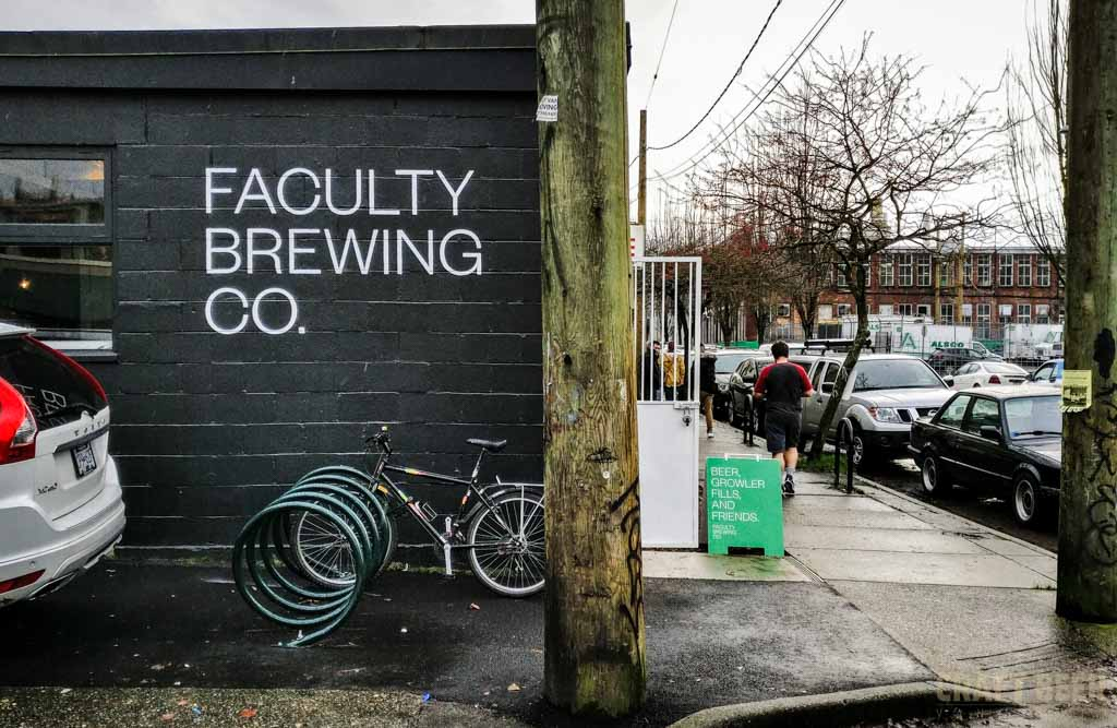 Faculty Brewing Company Exterior