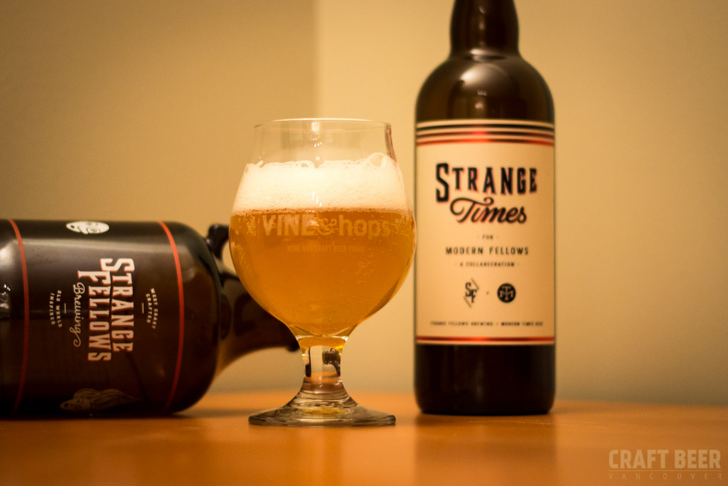 Try This Beer Strange Times for Modern Fellows