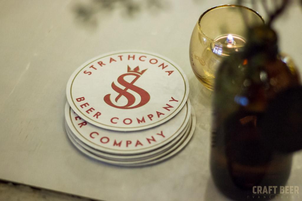 Strathcona Beer Company Coasters