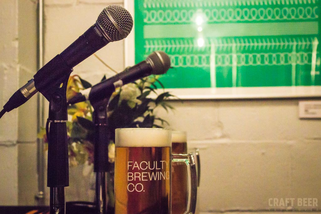 The Guest Tap Podcast Microphones and Beer at Faculty Brewing