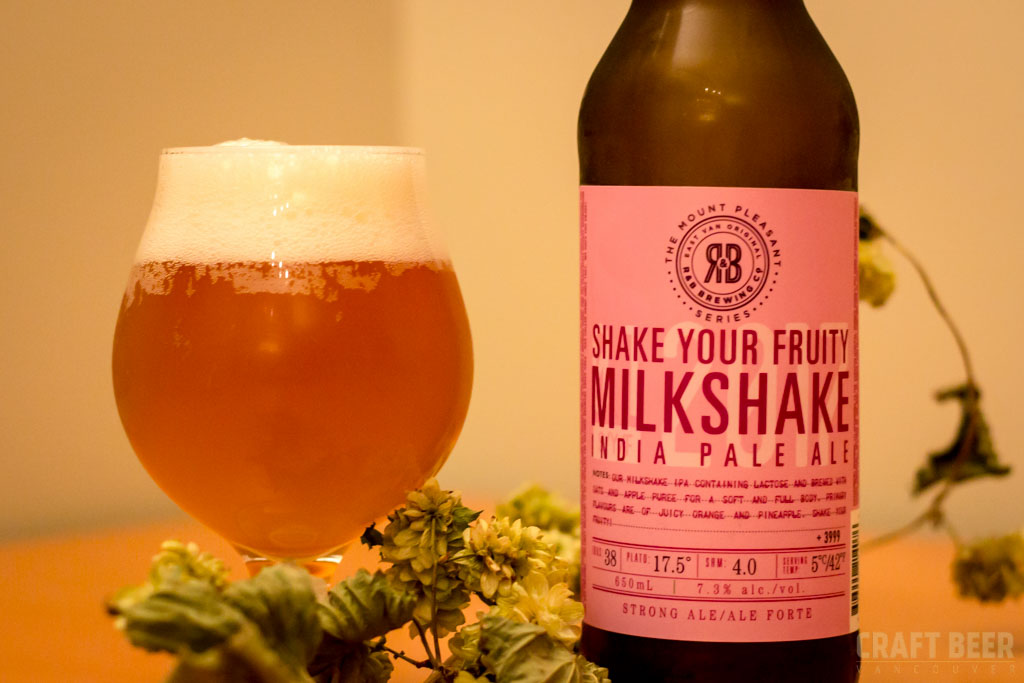 Try This Beer R&B Shake Your Fruity IPA
