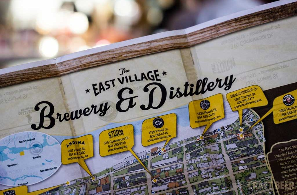 East Village Brewery and Distillery Passport
