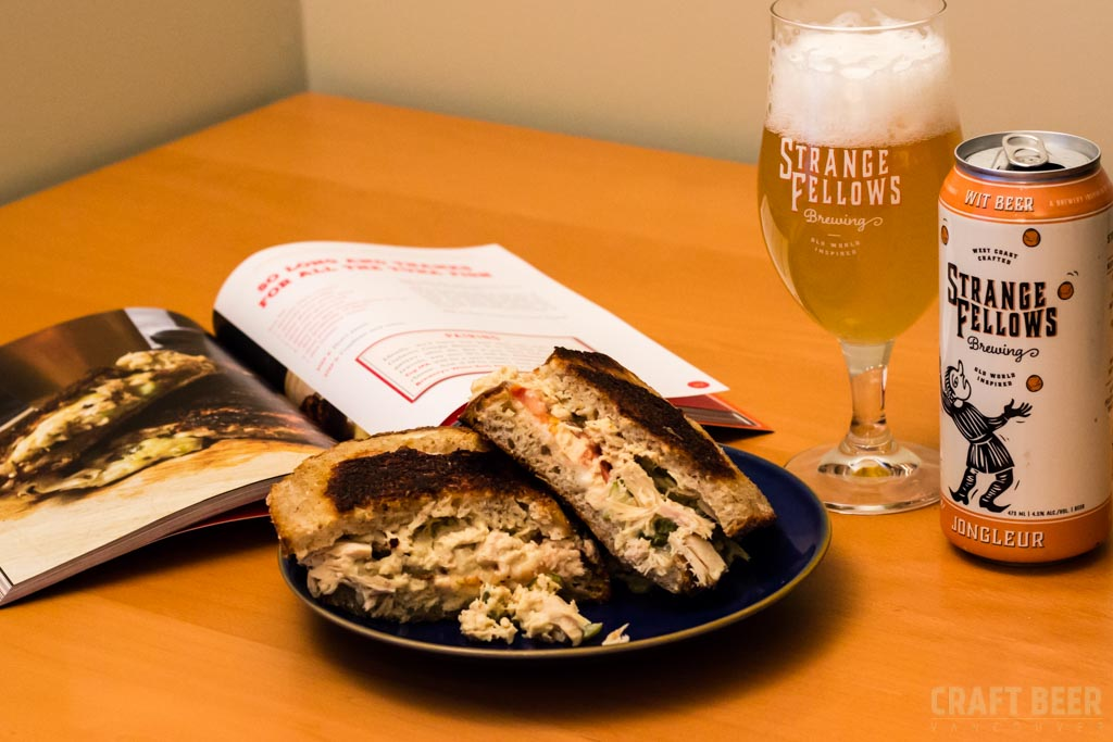 Grilled Cheese and Beer Book Strange Fellows Jongleur