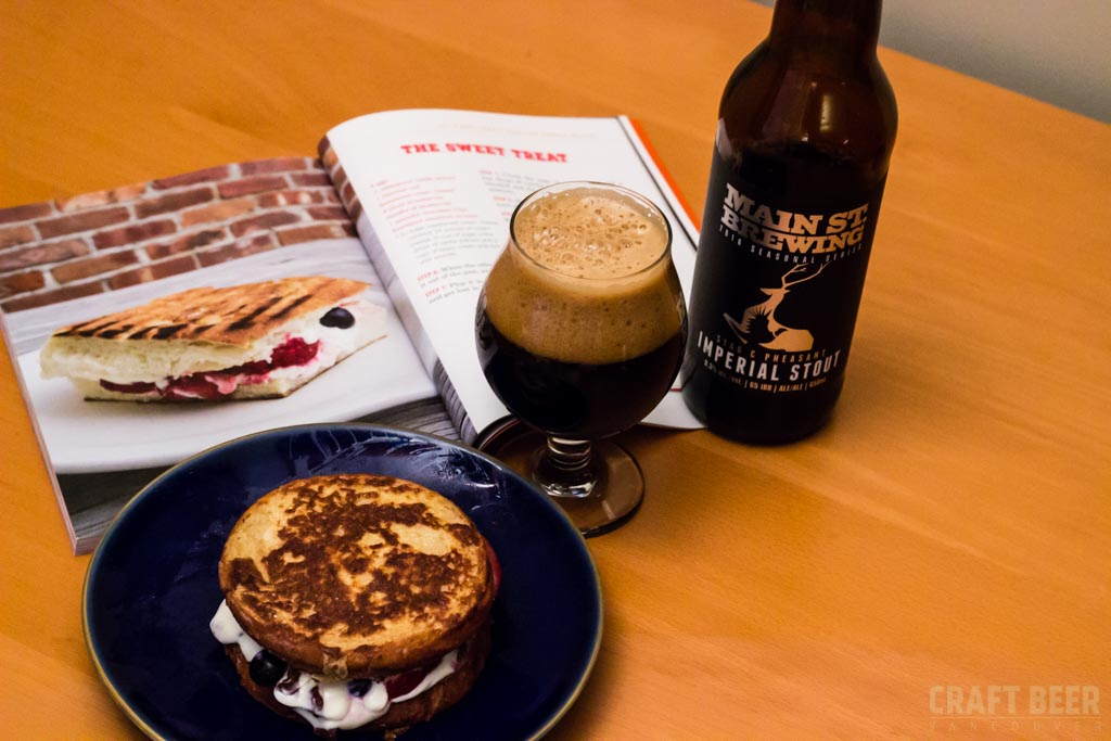 Grilled Cheese and Beer Book Main Street Stag and Pheasant
