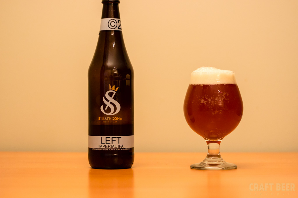 Strathcona Left Imperial IPA