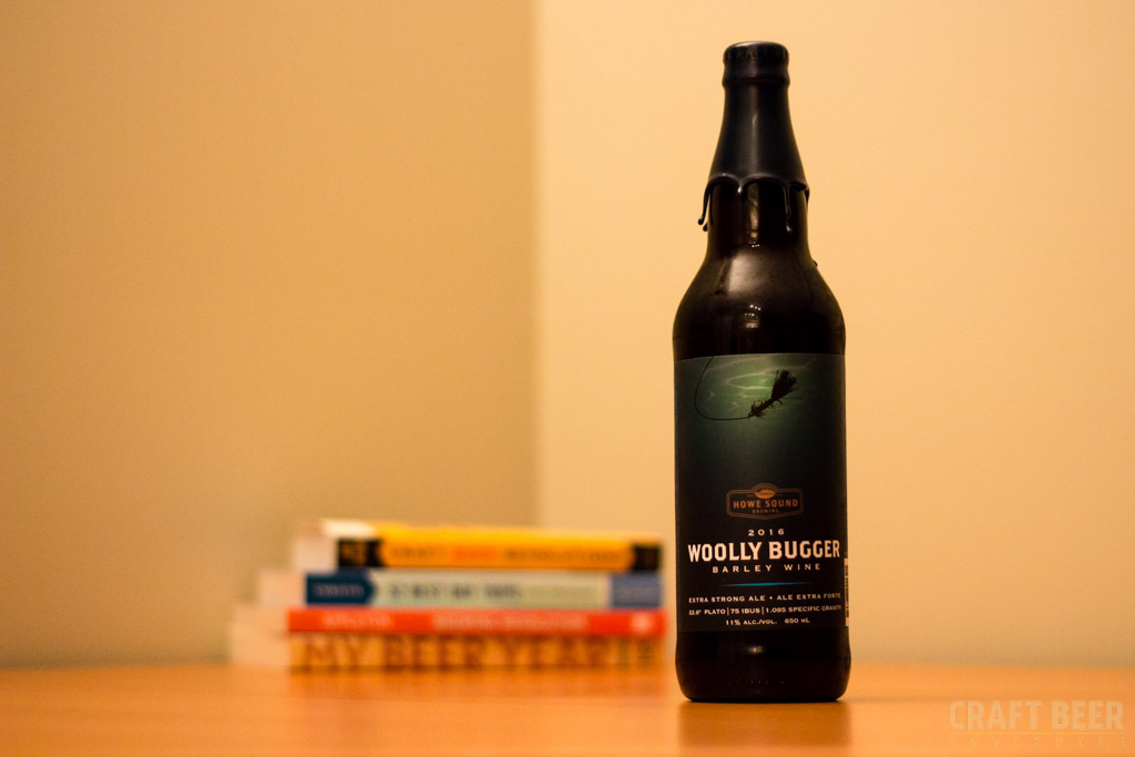 Try This Beer Howe Sound Brewing Co Wooly Bugger 2016 Bottle