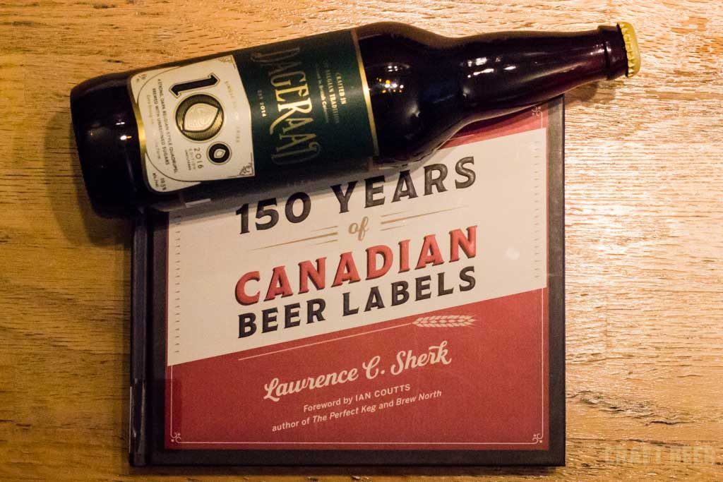150 Years of Canadian Beer Labels Cover