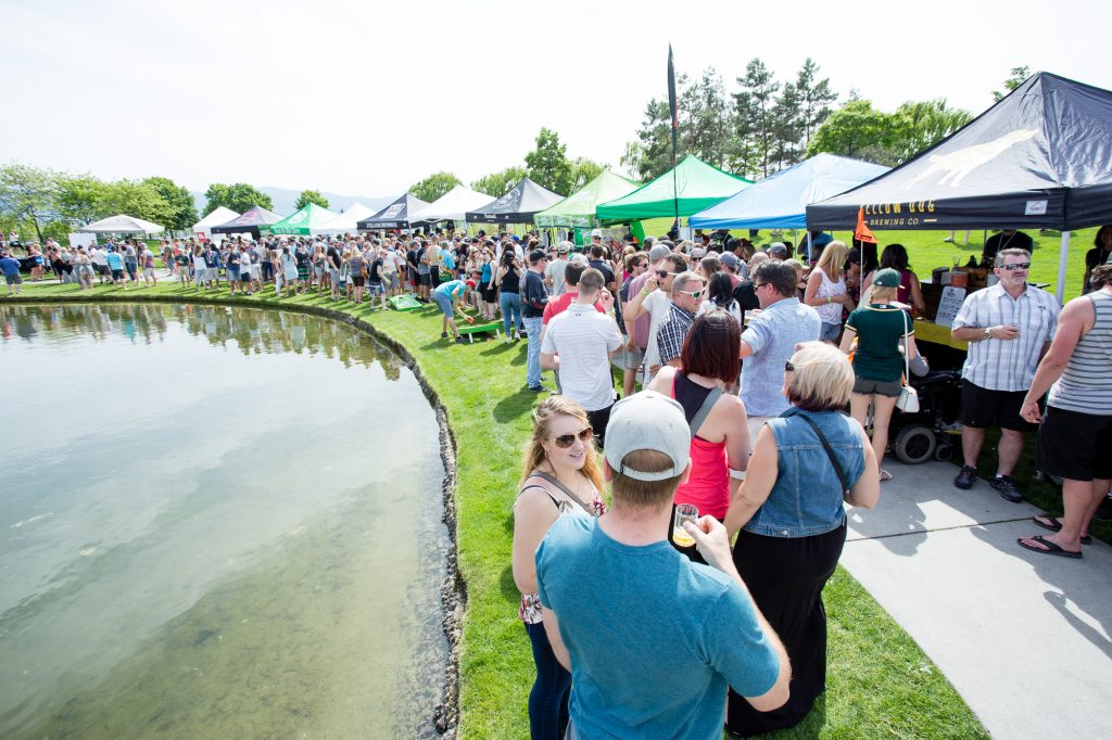 Great Okanagan Beer Festival Lagoon Photo