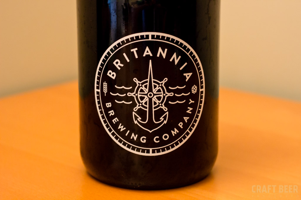 Try This Beer - Britannia Brewing Ashore Rye Porter Growler