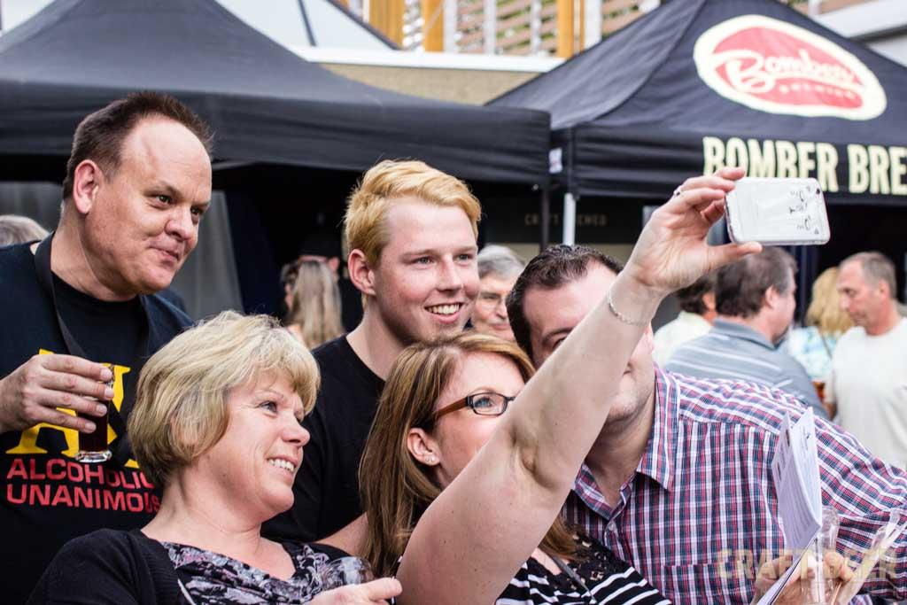 Okanagan Fest of Ale Promo Selfie