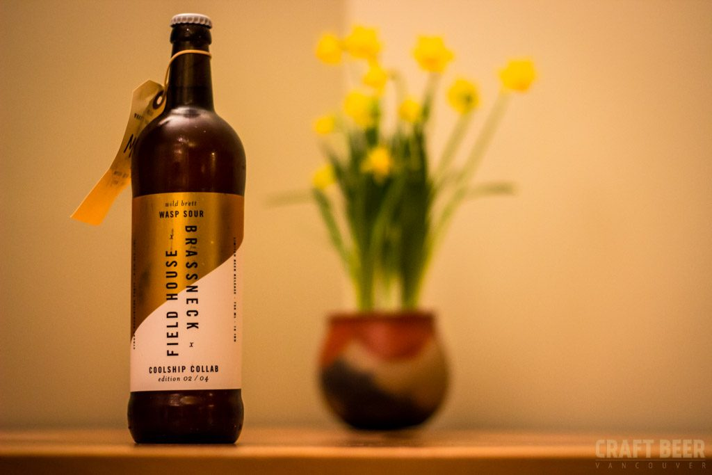 Field House Brewing Brassneck Collaboration Wasp Sour Bottle